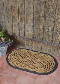 Коврик придверный на резиновой основе Celtic Knot Smart Garden фото