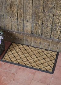 Коврик придверный на резиновой основе Diamond Pattern Smart Garden