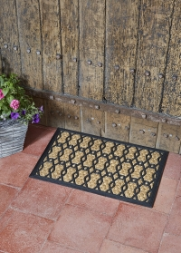 Коврик придверный на резиновой основе 60x40 см Honeycomb Smart Garden фото