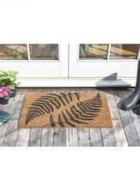 Коврик придверный из кокосового волокна Папоротник Ferns Smart Garden