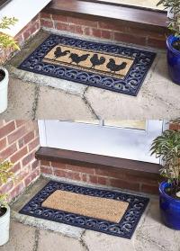 Коврик придверный резиновый для входа в дом Rubber Frame 75х45 Smart Garden фото