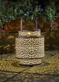 Декоративный садовый фонарь на солнечной батарее Tangier Smart Garden фото