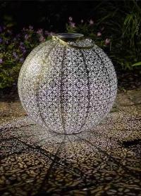 Декоративный уличный фонарь на солнечной батарее Giant Damasque Smart Garden фото