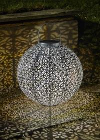 Декоративный уличный фонарь на солнечной батарее Jumbo Damasque Smart Garden фото