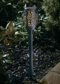 Уличный светильник на солнечной батарее Факел Torch Smart Garden фото