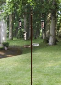 Столовая для птиц - держатель для кормушек Vintage Bronze Smart Garden фото