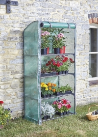 Складная мобильная теплица для защиты рассады GroZone Smart Garden фото