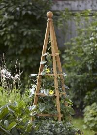Деревянный обелиск для вьющихся растений для сада и дачи британского бренда Smart Garden фото