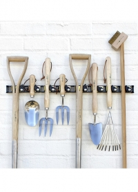 Рейлинг для садовых инструментов на стену Burgon & Ball фото
