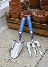Набор садовых инструментов - совок и вилка British Meadow Collection Burgon & Ball фото