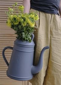 Лейка дизайнерская пластиковая для полива цветов Slate Grey Lungo Xala фото