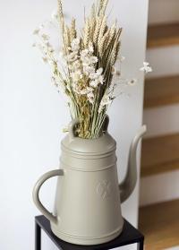 Голландская дизайнерская садовая лейка-кофейник 8 л. XALA Lungo Olive Grey фото