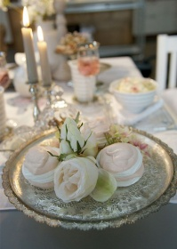 Поднос декоративный стеклянный для свечей Marla Lene Bjerre фото.jpg