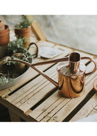 Английская медная лейка для цветов HAWS Rowley Ripple Copper & Copper фото