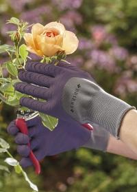 Перчатки садовые многофункциональные  для дачи, сада и огорода Multi-Task Violet Briers