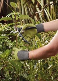 Перчатки садовые многофункциональные для дачи, сада и огорода Multi-Task Lime Briers