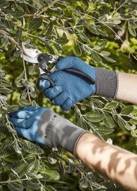 Перчатки садовые многофункциональные для дачи, сада и огорода Multi-Task Blue Briers фото