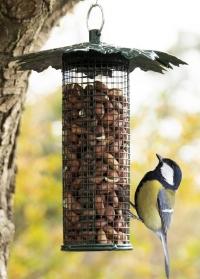 Декоративная кормушка для птиц под орехи Дубовые листья FB483 Esschert Design фото