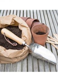 Совок садовый глубокий для посадки растений Burgon & Ball фото