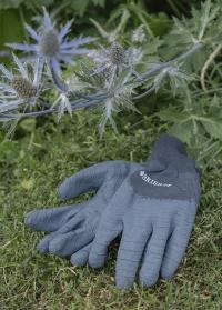 Перчатки садовые с латексным покрытием Multi-Grip All Rounder Navy от Briers фото
