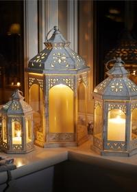 Набор больших подсвечников- фонарей 3 шт. Kings Smart Garden фото