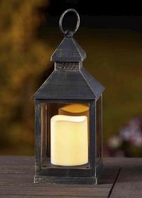 Декоративный фонарь со светодиодной свечой для дома и сада Kentish Smart Garden фото