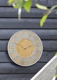 Часы настенные уличные Horus Smart Garden диаметр 35 см фото