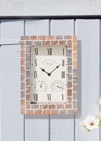 Часы настенные уличные на фасад загородного дома Stonegate Quard Smart Garden фото