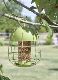 Металлическая подвесная кормушка для птиц под орехи с защитой от белок Acorn Peanut Smart Garden