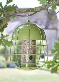 Металлическая кормушка для птиц под семечки с защитой от белок Acorn Seed Smart Garden фото