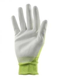 Перчатки садовые тонкие с нитрилом Lime Colors AJS-Blackfox фото