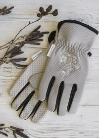 Перчатки женские для садовых работ Gripper Grey AJS-Blackfox фото