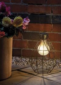Декоративный фонарь на солнечной батарее в ретро стиле Retro Eureca! Smart Garden фото