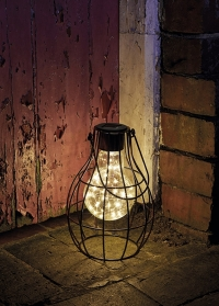 Декоративный фонарь в ретро стиле на солнечной батарее Eureca Large! Smart Garden фото