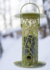 Кормушка для птиц с колбой для зерен и семечек Chiffchaff FB496 Esschert Design фото