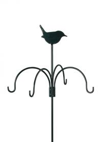 Декоративный держатель с кронштейнами для подвесных кормушек FB145 Esschert Design фото
