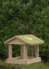 Деревянная подвесная кормушка для птиц Домик FB542 от Esschert Design фото