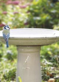 Садовая купальня для птиц на подставке Cream FB423 Esschert Design фото