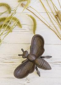 Кормушка-поилка декоративная для птиц настольная для дачи и сада Пчела BEE014 Esschert Design фото