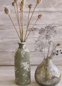 Ваза из состаренной керамики Kara Lene Bjerre фото.jpg