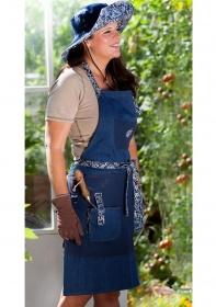 Фартук джинсовый для сада и огорода GardenGirl Denim Collection фото