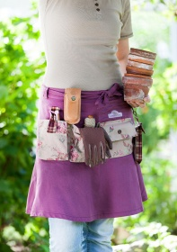 Юбка с запахом дачная GardenGirl Classic Collection RS12 картинка