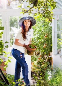 Шляпа GardenGirl Denim Collection