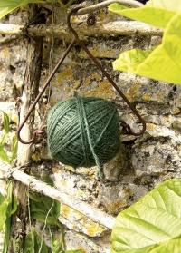 Веревка для растений джутовая с подвесом для дачи и сада W2904 Esschert Design фото.jpg