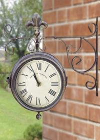 Уличные часы двухсторонние Esschert Design