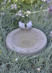 Декоративная купальня для птиц из декоративного бетона FB297 Esschert Design фото