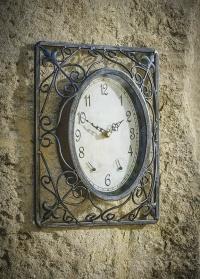 Уличные настенные часы кованые Malmesвury Briers фото