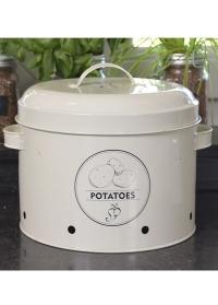 Эмалированный контейнер для хранения картофеля Esschert Design