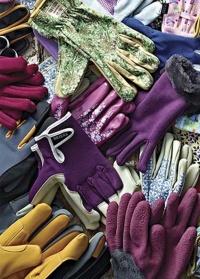 Перчатки садовые с нитрилом «Горошек» Briers