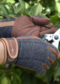 Перчатки мужские защитные Dig The Glove Tweed Burgon & Ball картинка